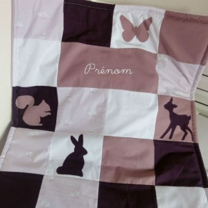 couverture-bebe-patchwork-personnalisee-lapin