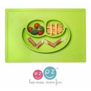 assiette-happy-mat-vert-ezpz-ezpz