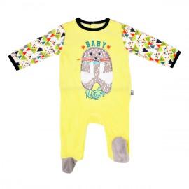 grenouillere-bebe-garcon-jaune-wapi